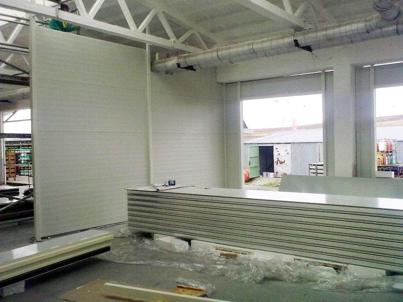 Oprava přístavku skladovací haly – Hustopeče