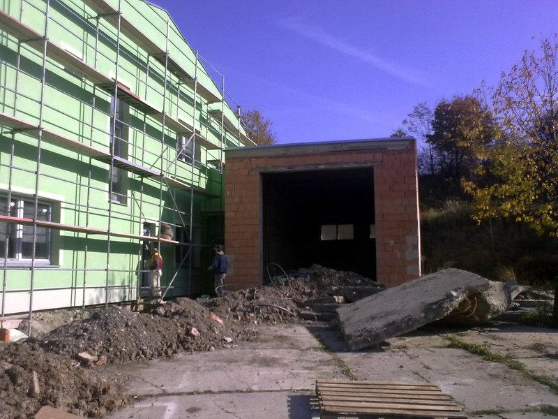Oprava betonové podlahy nákladní myčky – Nížkovice