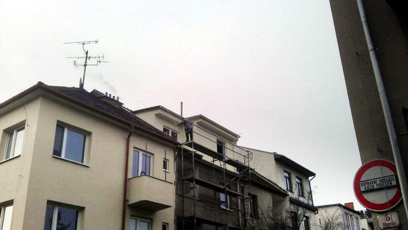 Půdní vestavba – Brno