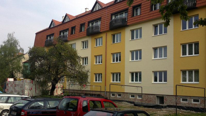 Regenerace bytového domu Tilhonova 81-89 – Brno