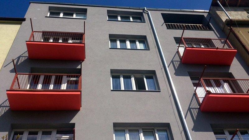 Kontaktní zateplovací systém bytového domu ul.Malátova – Brno