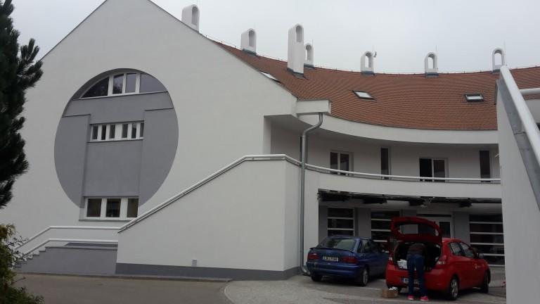 Revitalizace objektu – Domov s pečovatelskou službou v Telči
