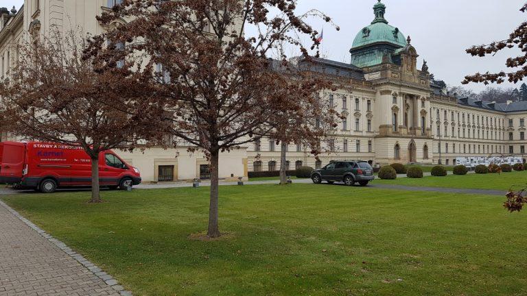 Rekonstrukce provozní budovy Úřadu vlády ČR