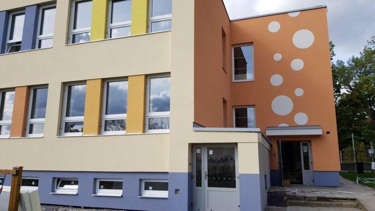 Zateplení Mateřské školy v obci Kravsko