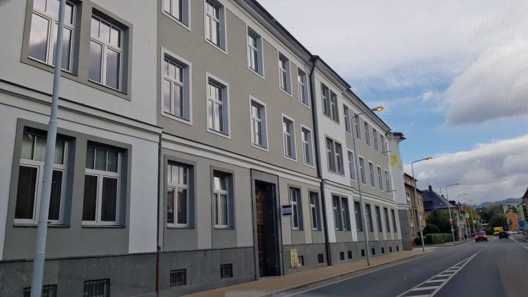 Oprava fasády MÚ Šumperk